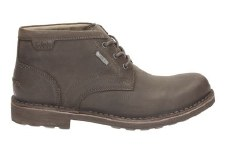 Clarks 'Lawes Mid GTX' Mens Boots (Dark Brown)