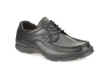 Clarks 'Line March' Mens Shoes (Black)