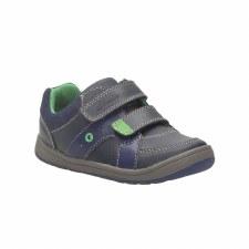 Clarks 'Maltby Pop' Boys Shoes (Navy)