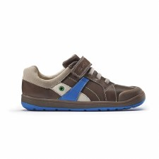 Clarks 'Maltby Pow Inf' Boys Shoes (Brown Combi)