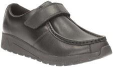 Clarks 'Mistro Trek BL' Boys School Shoes (Black)
