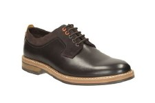 Clarks 'Pitney Walk' Mens Shoes (Dark Brown)