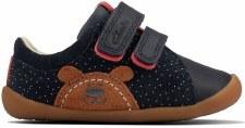 Clarks 'Roamer Bear Toddler' Boys Shoes (Navy)