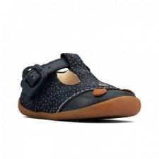 Clarks 'Roamer Cub Toddler' Boys Shoes (Navy)
