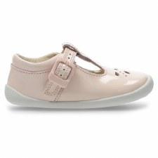 Clarks 'Roamer Star' Girls Shoes (Blush)
