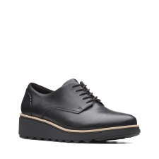 Clarks 'Sharon Noel' Ladies Shoes (Black)
