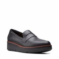 Clarks 'Shaylin Step' Ladies Shoes (Black)
