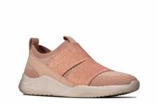 Clarks 'Sift Slip' Ladies Shoes (Blush)
