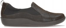Clarks 'Sillian Paz' Ladies Wide Fitting Shoes (Dark Brown)