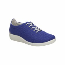 Clarks 'Sillian Tino' Ladies Wide Fitting Shoes (Blue)