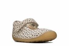 Clarks 'Tiny Mist' Girls Pre Shoes (Cotton)