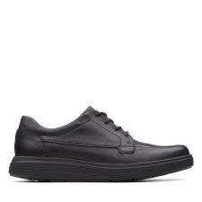 Clarks 'Un Abode Ease' Mens Shoes (Black)