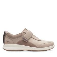 Clarks 'Un Adorn Lo' Ladies Shoes (Pebble)