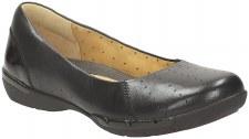 Clarks 'Un Hearth' Ladies Shoes (Black)
