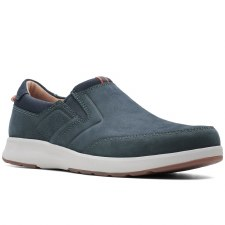 Clarks 'Un Trail Step' Mens Shoes (Navy Nubuck)
