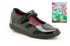 Clarks 'Buzz Time Inf' School Shoe (Black)