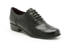 Clarks 'Hamble Oak' Leather Brogues (Black)