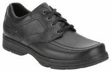 Clarks 'Star Stride' Mens Leather Shoe (Black)
