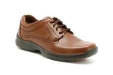 Clarks 'Supa Walk' Casual Shoes (Brown)