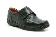Clarks 'Swift Turn' Wide Fitting Mens Shoe (Black)