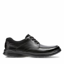 Clarks 'Cottrell Edge' Mens Shoes (Black)