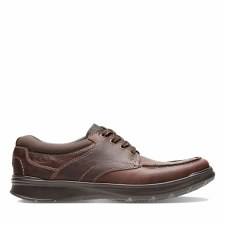 Clarks 'Cottrell Edge' Mens Shoes (Brown)