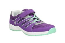 Clarks 'Cross Dart' Girls Sport Shoes (Amethyst)