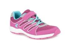 Clarks 'Cross Dart Jnr' Girls Sport Shoes (Pink)