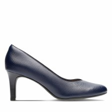 Clarks 'Dancer Nolin' Ladies Heels (Navy)