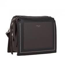 David Jones '6119' Crossbody Bag (Black)