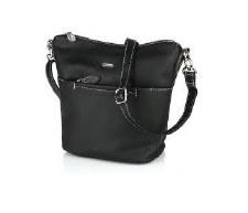 David Jones '6129' Crossbody Bag (Black)