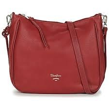 David Jones 'CM5465' Handbag (Dark Red)
