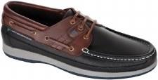 Dubarry 'Atlantic' Mens Mocassin Shoes (Navy/Mahogany)