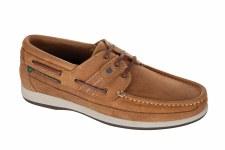 Dubarry 'Atlantic' Mens Mocassin Shoes (Brown)