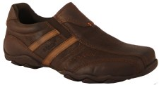 Dubarry 'Slide' Leather Slip-On Shoe (Mahogany)