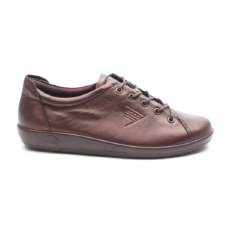 Ecco '206503' Ladies Shoes (Fig Metallic)