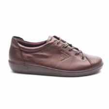 Ecco '206503' Ladies Shoes (Fig Metallic)