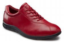 Ecco 'Babett' Ladies Comfort Shoes (Brick)