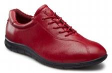 Ecco 'Babett' Ladies Comfort Shoes (Brick)