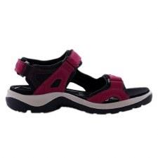 Ecco '69563' Ladies Sandals (Sangria/Fig)