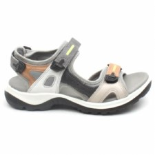 Ecco '822083' Ladies Sandals (Grey Multi)