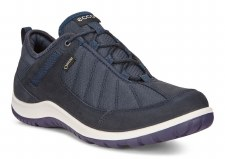 Ecco '838543' Ladies Trainers (Navy)