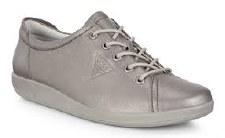 Ecco '206503' Ladies Shoes (Stone Metallic)