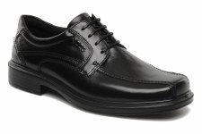 Ecco 'Helsinki' Lace-Up Shoe (Black)
