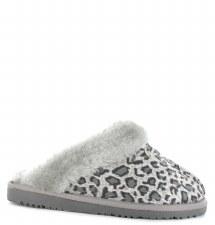 Ella Shoes 'Jill' Ladies Slippers (Grey)