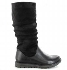 Ella 'Myla' Ladies Long Boots (Black)