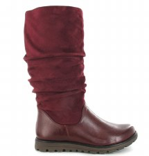 Ella 'Myla' Ladies Long Boots (Burgundy)