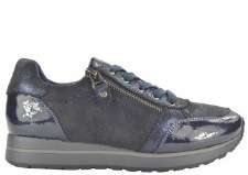 Fabs '61113' Ladies Trainers (Navy)