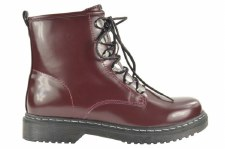 Fabs 'F71115' Ladies Ankle Boots (Burgundy)