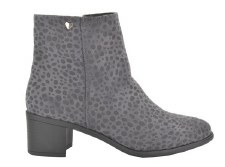 Fabs '72117' Ladies Ankle Boots (Grey)